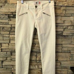 cabi Zip Skinny Jean